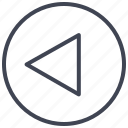 left, pointer, round, arrow, arrows, direction