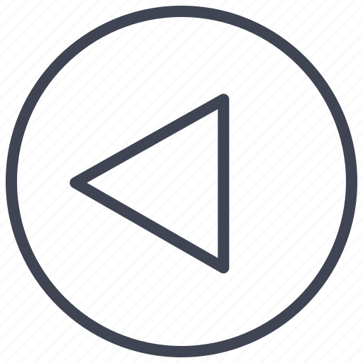 arrow, arrows, direction, left, pointer, round icon