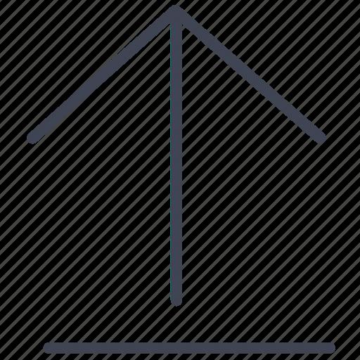 arrow, arrows, direction, upload, uploading icon