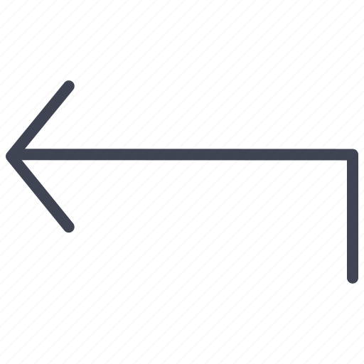 arrow, arrows, direction, left, turn icon