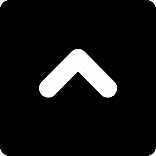 Top, square, arrow icon