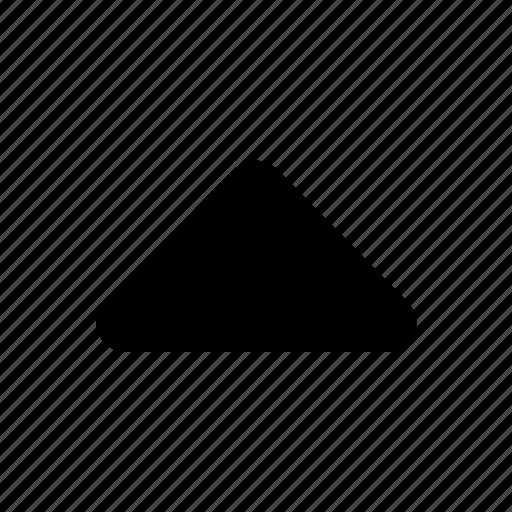 top, triangle icon