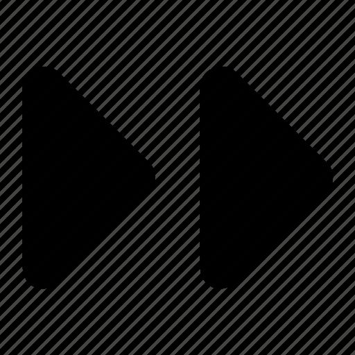 right, triangles icon