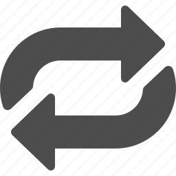 arrows, multimedia, playlist, reload, replay, shuffle, video icon