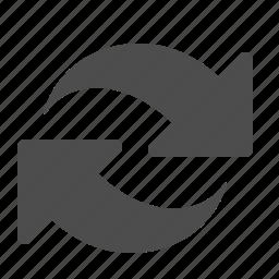 arrow, arrows, business, exchange, finance icon