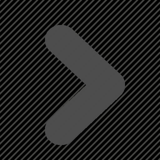 arrow, play, pointer icon