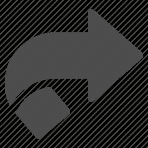 arrow, arrows, fold icon