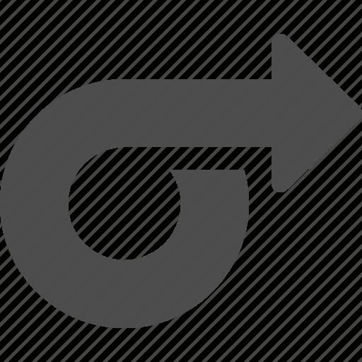 arrow, direction, pointer icon