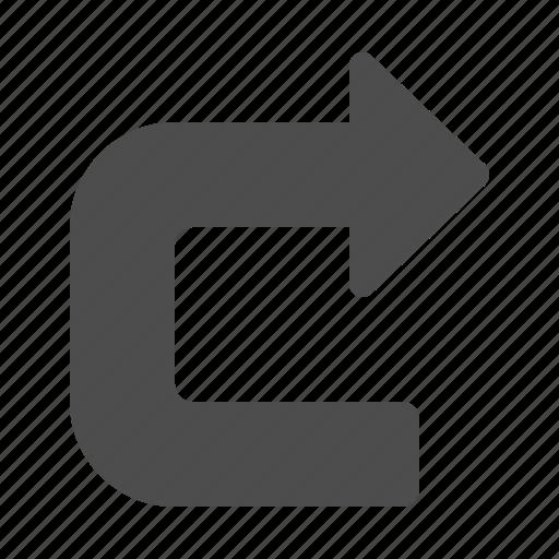 arrow, arrows, undo icon