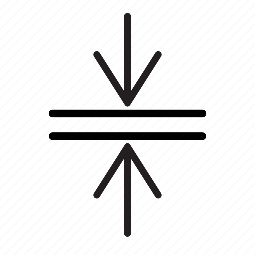 arrows, compress, horizontal, merge, window icon