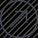 arrow, design, point, ui, up, ux icon