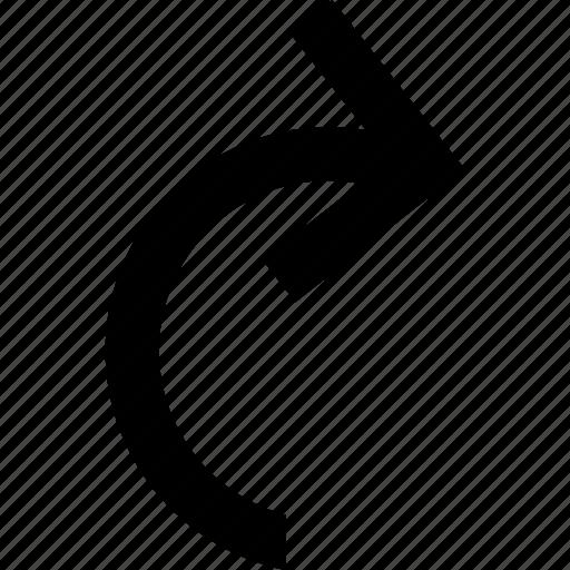 arrow, next, redo, redo icon, redo symbol icon