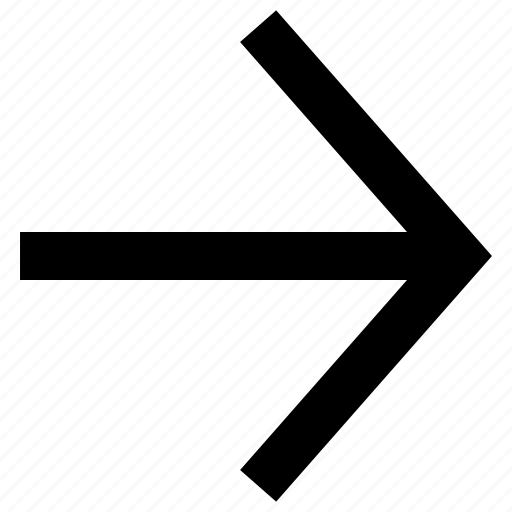 arrow, direction, right, right arrow, right direction icon