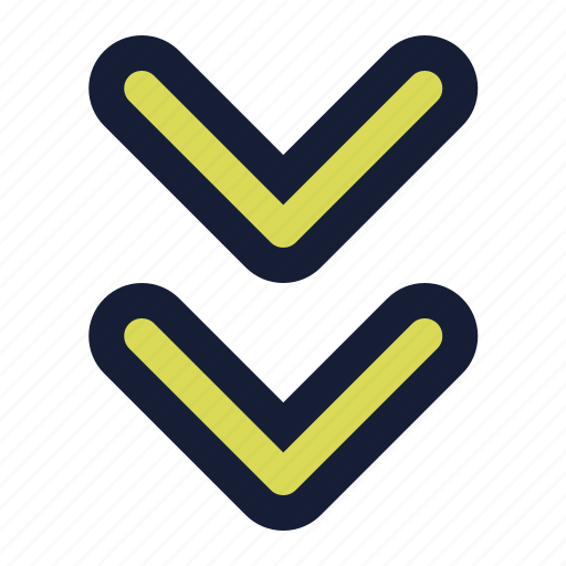 Arrow, arrows, down icon - Download on Iconfinder