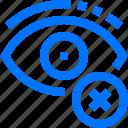 art, cancel, delete, design, eye, hide, monitor icon