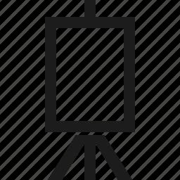 art, design, easel, paint icon