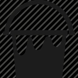 art, bucket, design, paint, paint bucket icon