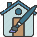 house, design, artist, artwork, home