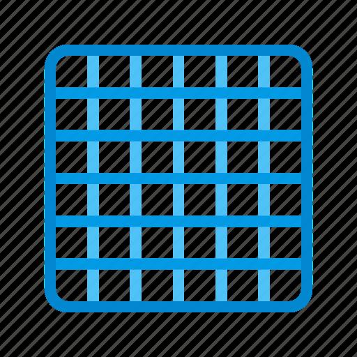 geometric, grid, logo, modern, pattern, stylish, texture icon