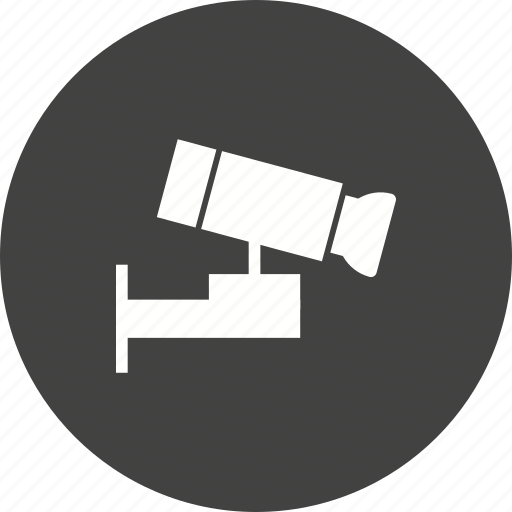 Cctv, system, guard, camera, safety, video, security icon