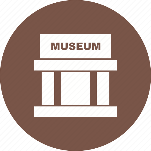 architecture, building, city, columns, historical, museum, old icon