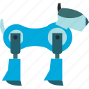 artificial, background, robot, robotics icon