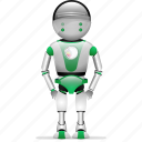 business, isometric, robot, robotic icon