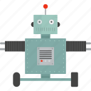 intelligence, isometric, robot, robotic icon