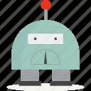 automation, intelligence, isometric, robot icon