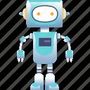 automation, intelligence, isometric, machine icon