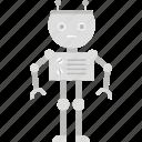 intelligence, isometric, machine icon