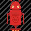 intelligence, machine, manufacturing, robotic icon