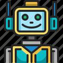 robot, ai, futuristic, automaton, electronics, humanoid