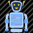 robot software, robot coding, text robot, bot, artificial intelligence