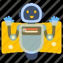 bot, robot, cyborg, technology, robo