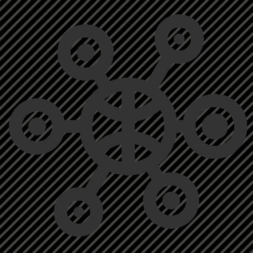 communication, information, internet, network icon