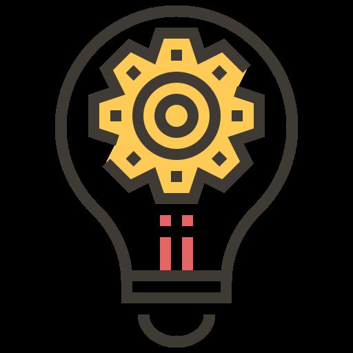 Ai, artificial intelligence, electronics, light bulb, robotics, science fiction, technology icon - Free download