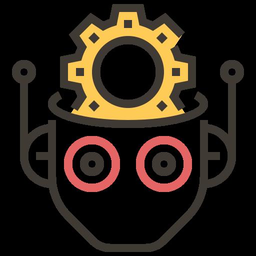 Ai, artificial intelligence, automaton, brain, electronics, robotics, technology icon - Free download