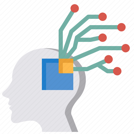 Artificial, artificial intelligence, brain, connection, human, networking, operating icon - Download on Iconfinder