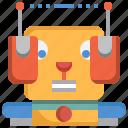animal, artificial intelligence, dog, future, machine, pet, robot