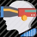 artificial intelligence, avatar, futuristic, human, man, technology, vr