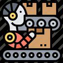autonomous, conveyor, industry, machine, robot