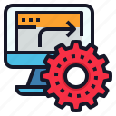 automation, business, management, office, workflow icon