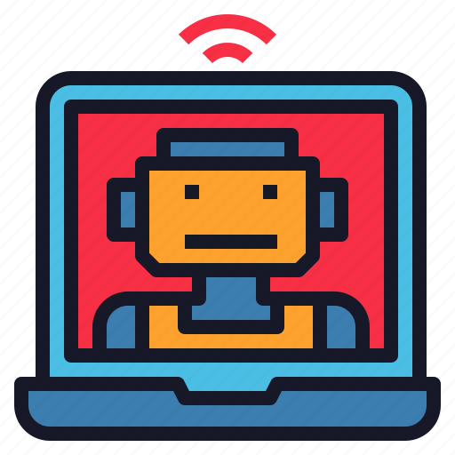 Ai, assistant, robot, robotics, support, technoloy icon - Download on Iconfinder