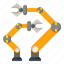 arms, artificial, intelligence, machine, robot icon