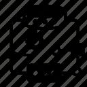algorithm, workflow, data flow, data structure, pattern recognition icon