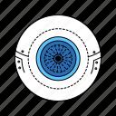artificial, body, implant, prosthetic, eye, organ, limb icon