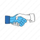artificial, body, implant, prosthetic, shaking, limb, hands icon