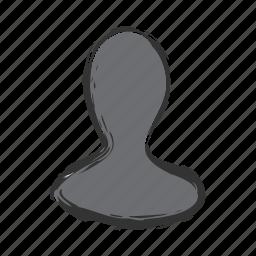 account, man, person, user, woman icon