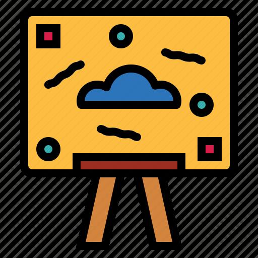 art, canvas, design, painting icon